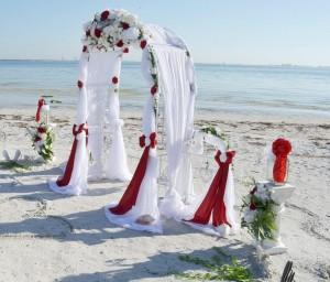 Hochzeitspaket Premium Villa als Strandhochzeit im Raum Florida