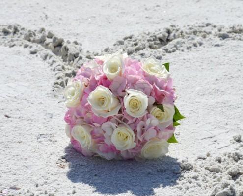 Brautstrauß am Strand Florida