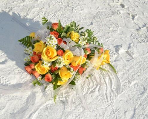 Brautstrauß Florida Strand