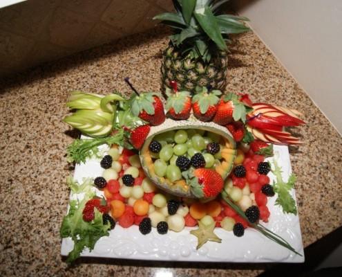 Deko aus Obst