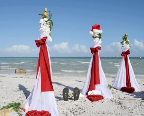 Deko Strand Weihnachten Heiraten