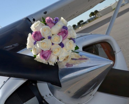 Hochzeit Florida Flugzeug