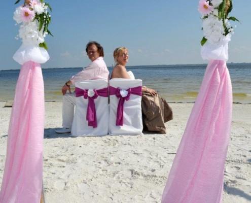 Hochzeitspaar Strand