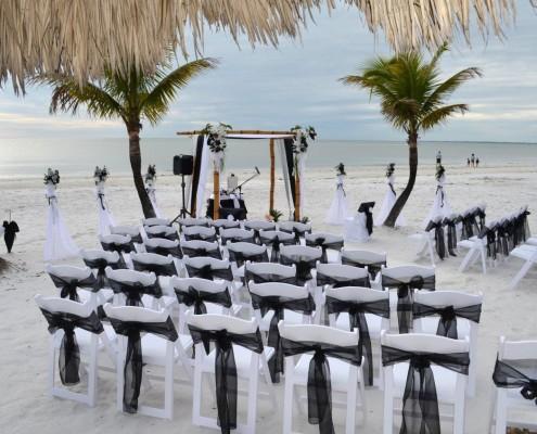 Hochzeitsstühle Strand
