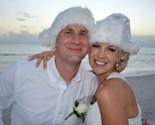 Brautpaar Weihnachten