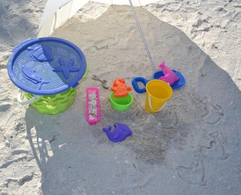 Spielzeug für Sand