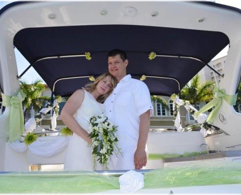 Hochzeit Boot
