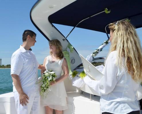 Heiraten im Boot