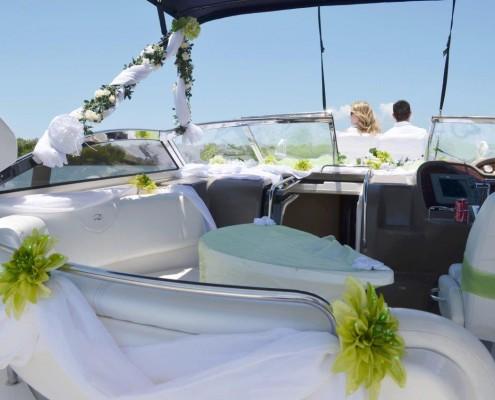 Yacht Hochzeit Florida