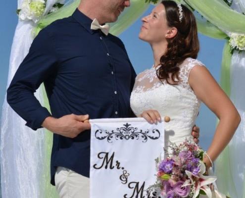 Hochzeitspaar Florida