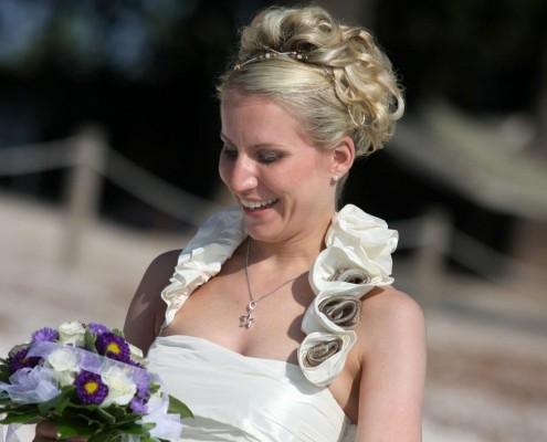 Hochzeit Hochsteckfrisur Florida