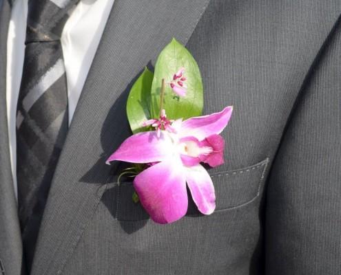Ansteckblume für Bräutigam