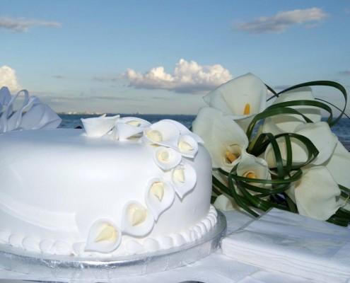 Sanibel Wedding Cake