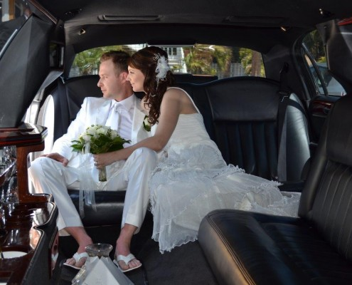 Limousine Hochzeit