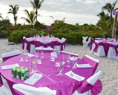 Tropical Wedding Planner Catering