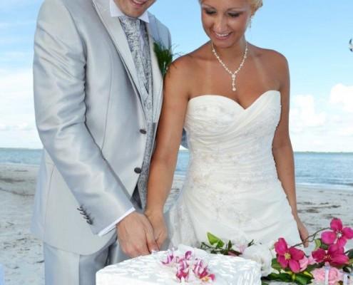 Tropical Wedding Planner Torte