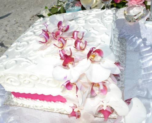 Wedding Flower Poxer Weddingcake