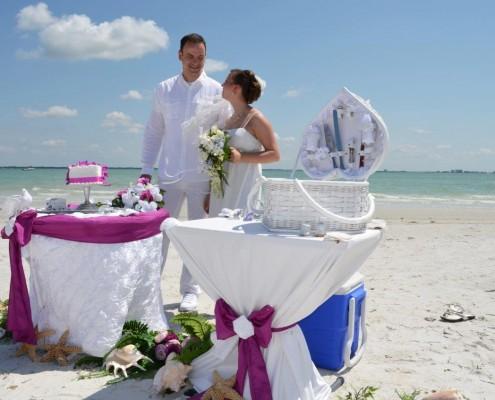 Beginn Hochzeit