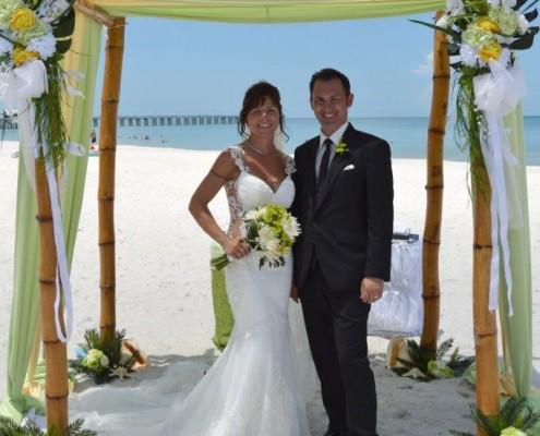 Bambus Hochzeit