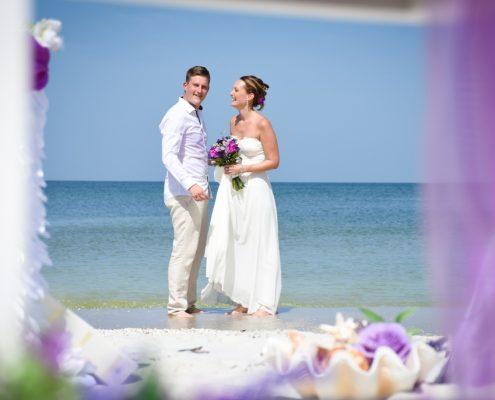 Barfuss Hochzeit Florida