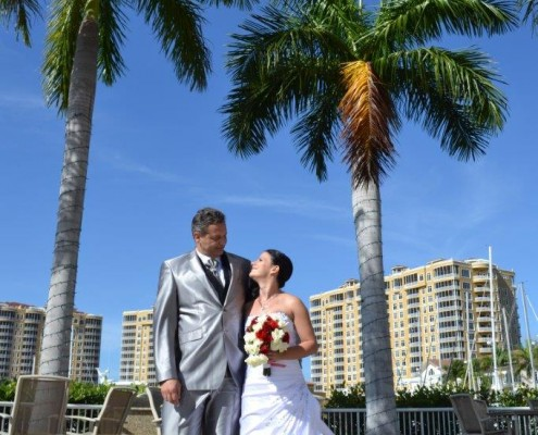 Boat Wedding in Cape Coral
