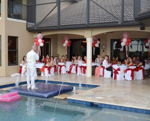 Hochzeit Feier in Florida