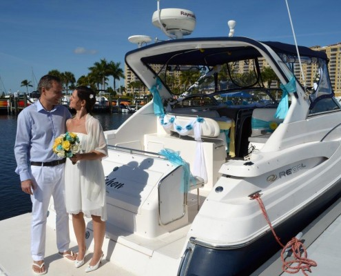 Heiraten Yacht