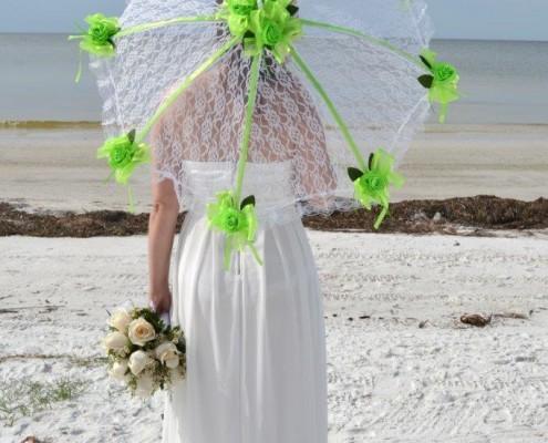 Schirm für Braut