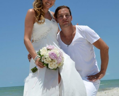 Brautpaar Strand