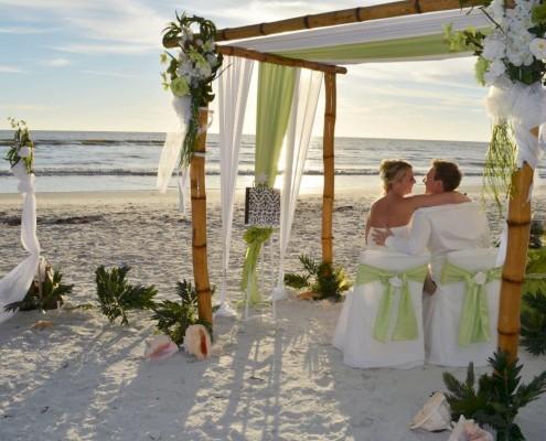 Hawaiianische Hochzeit