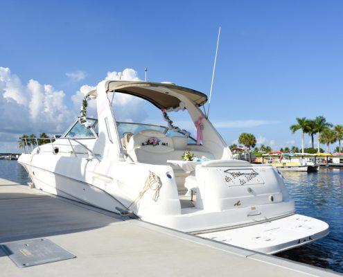 Heiraten auf dem Boot