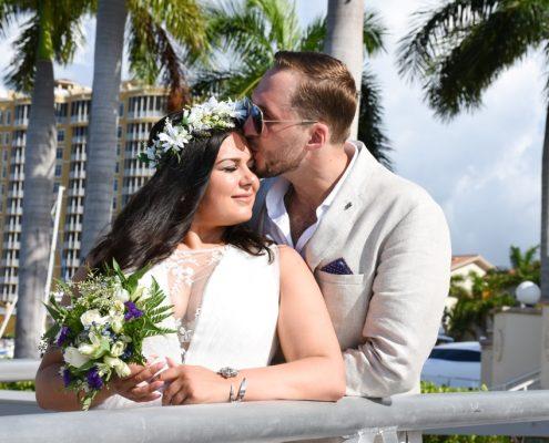 Heiraten auf einer Yacht Florida