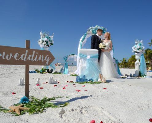 Hochzeit am Strand Florida