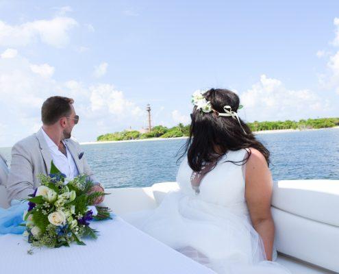 Hochzeit auf Yacht