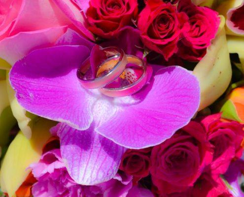 Orchideen Hochzeit