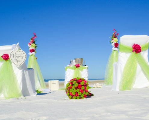 Apfelgrün Hochzeit