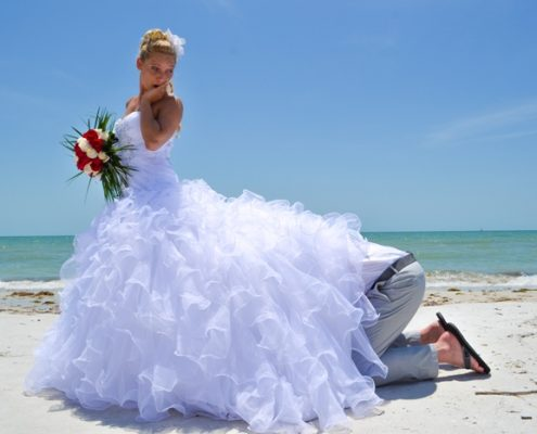 Spass Hochzeit in Florida
