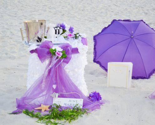 Naples Strandhochzeit
