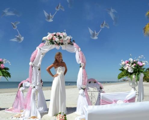 Strand Hochzeit Dekoration