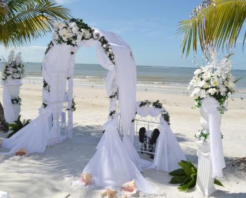 Stranddekoration Hochzeit
