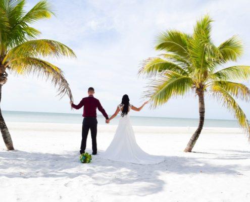 Tropische Strand Hochzeiten