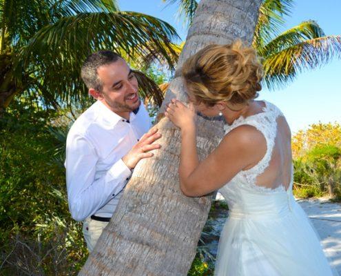 Heiraten unter Palmen
