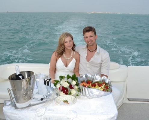heiraten auf dem Wasser