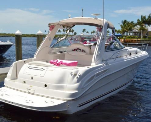 heiraten auf einem Boot