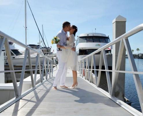 Yacht Hochzeit
