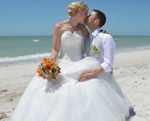 heiraten im Sand