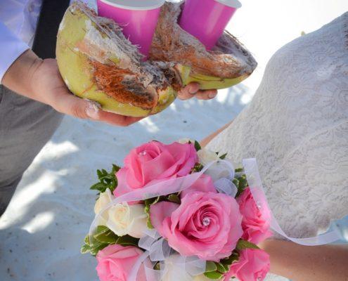 tropisch in Florida heiraten