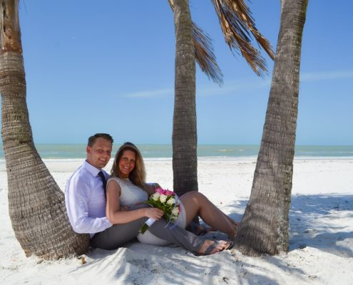unter Palmen heiraten