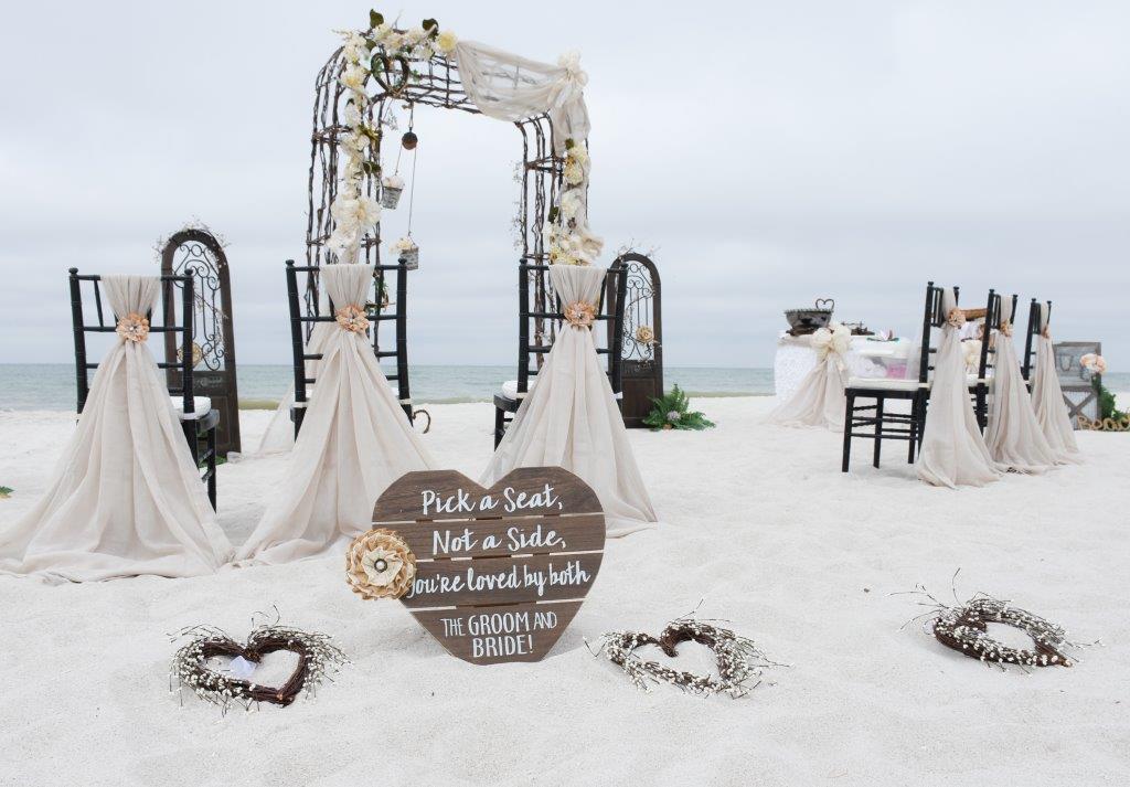 Tropical Wedding Planner - Vintage