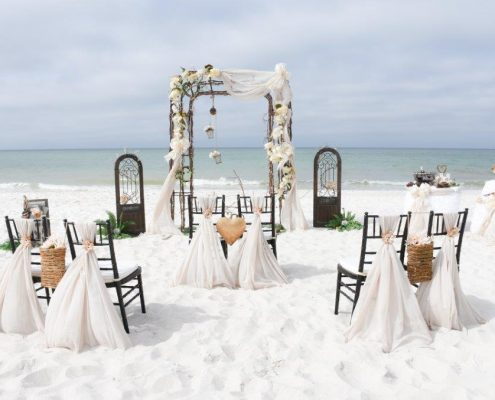 Tropical Wedding Planner - Vintage